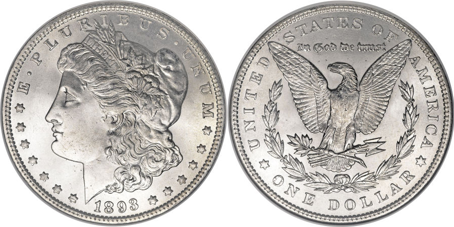 1893 Morgan Dollar Value