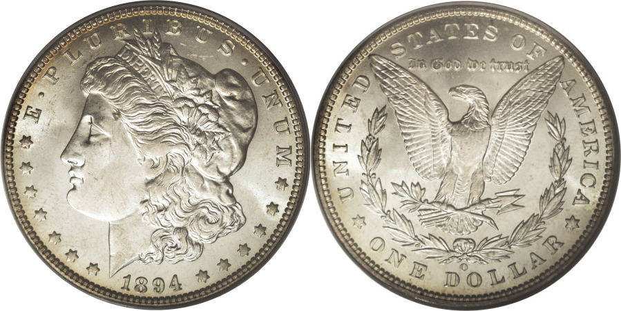 1894-O Morgan Dollar Value