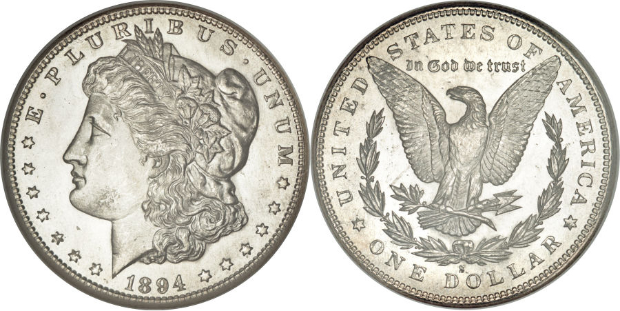 1894-S Morgan Dollar Value
