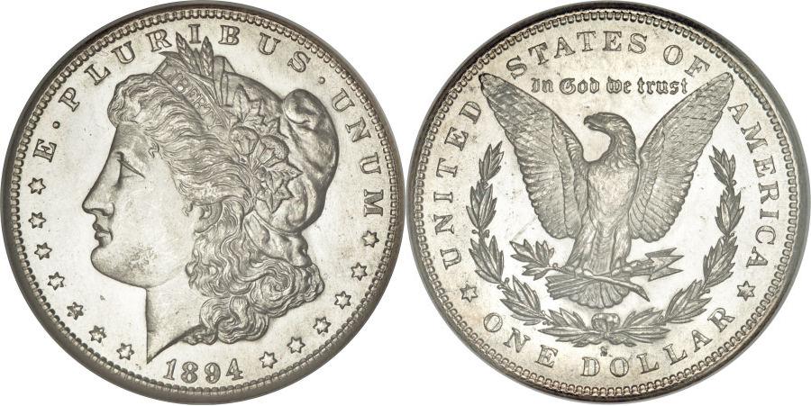 1894-S Morgan Dollar Value