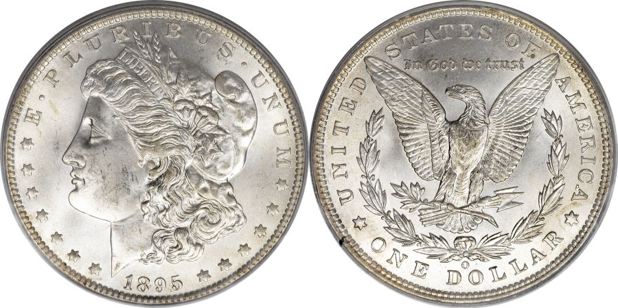 1895-O Morgan Dollar Value