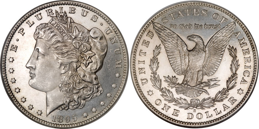1895-S Morgan Dollar Value