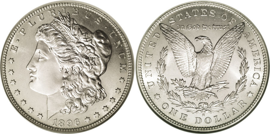 1896-S Morgan Dollar Value