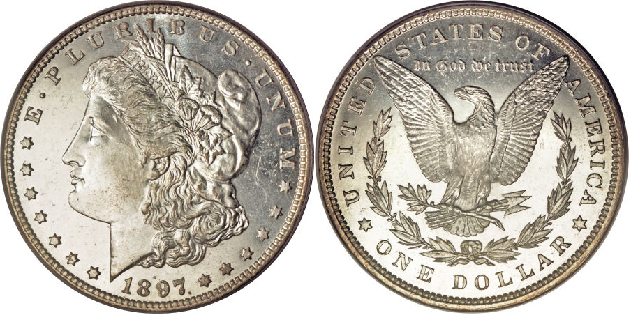 1897 Morgan Dollar Value