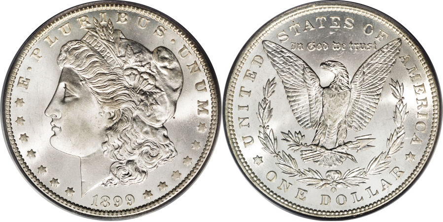 1899-O Morgan Dollar Value