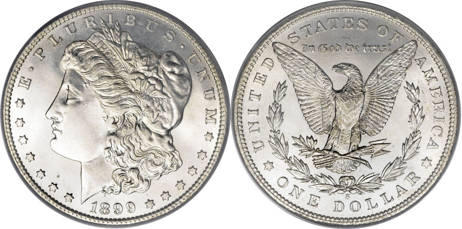 1899-S Morgan Dollar Value