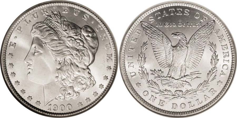 1900 Morgan Dollar Value