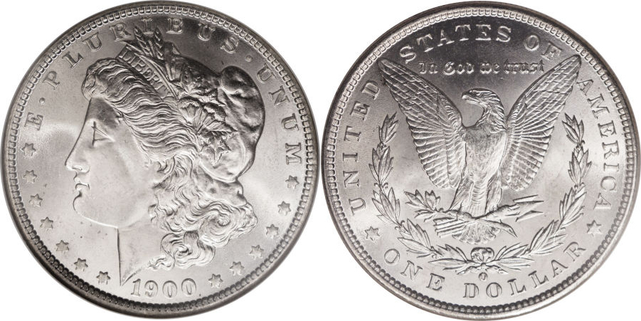 1900-O Morgan Dollar Value