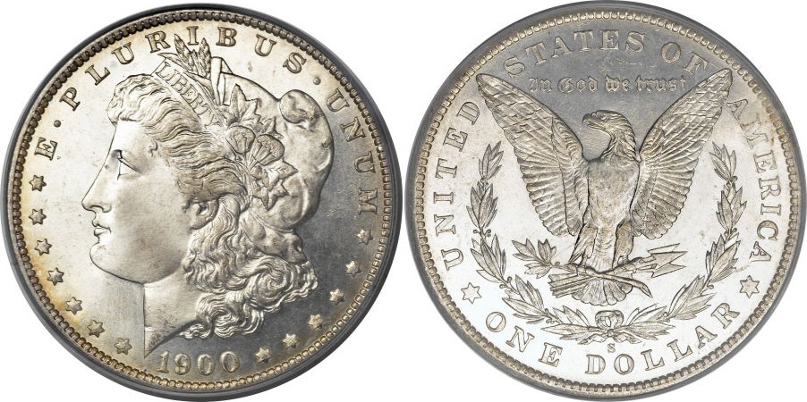 1900-S Morgan Dollar Value