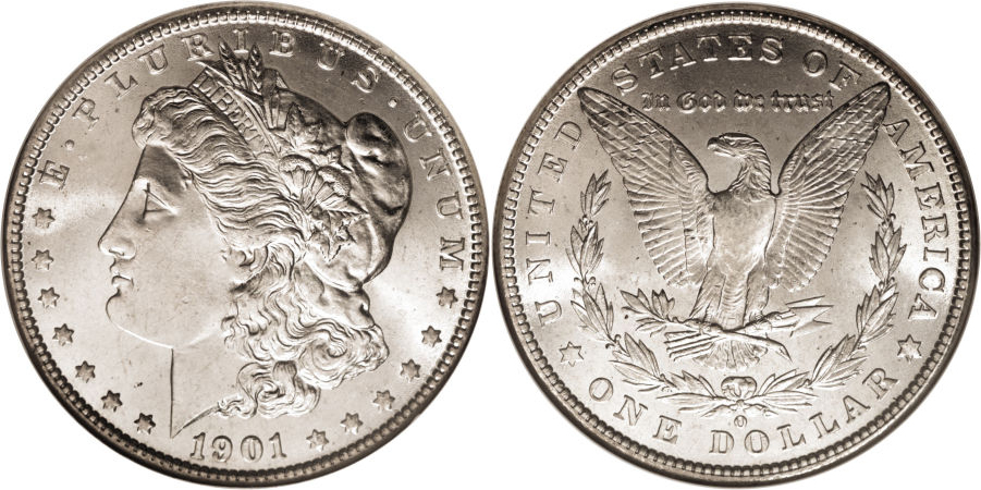 1901-O Morgan Dollar Value
