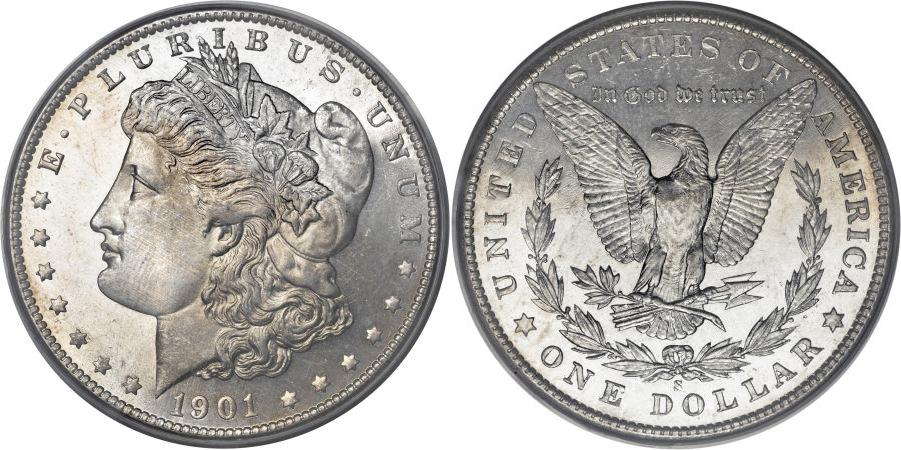 1901-S Morgan Dollar Value