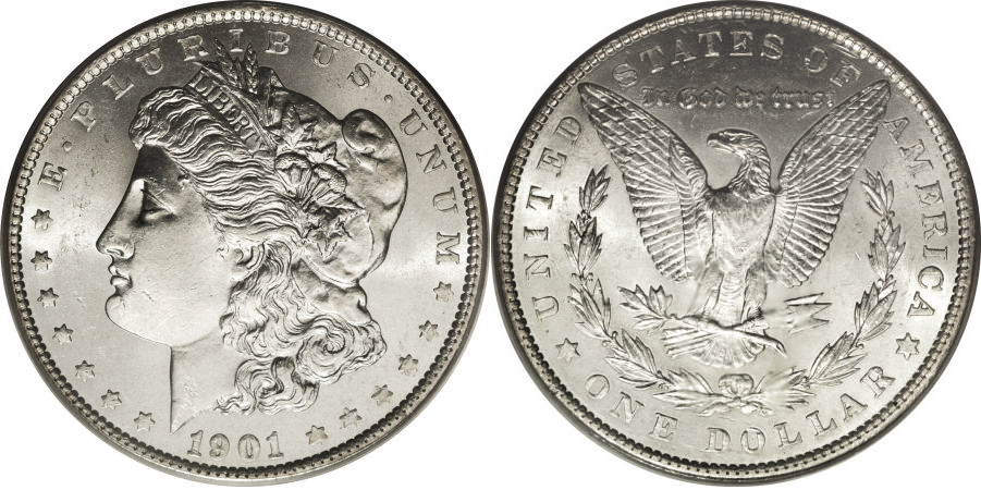 1901 Morgan Dollar Value