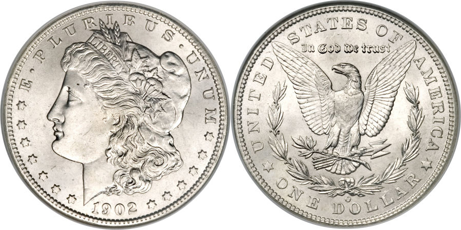1902-O Morgan Dollar Value