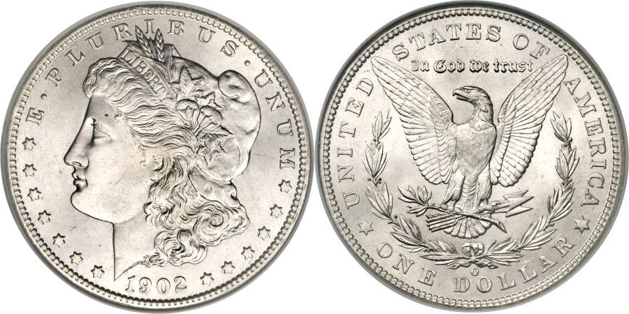 1902-O Morgan Dollar Value