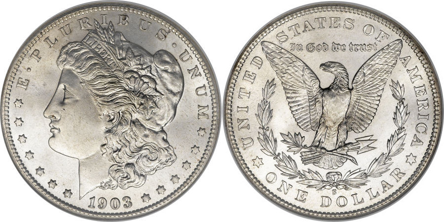 1903-S Morgan Dollar Value