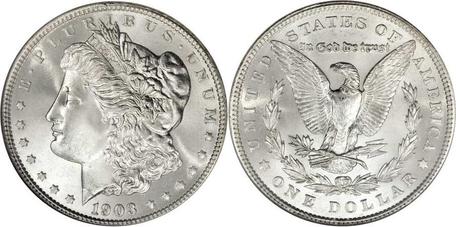 1903 Morgan Dollar Value