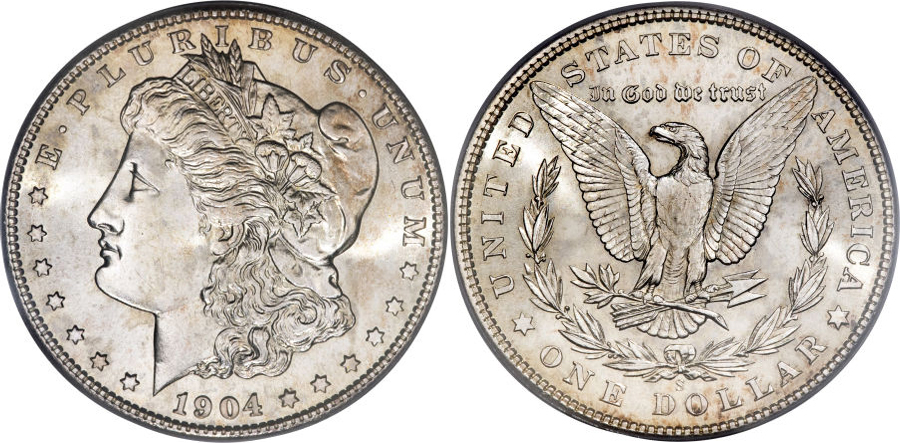 1904-S Morgan Dollar Value