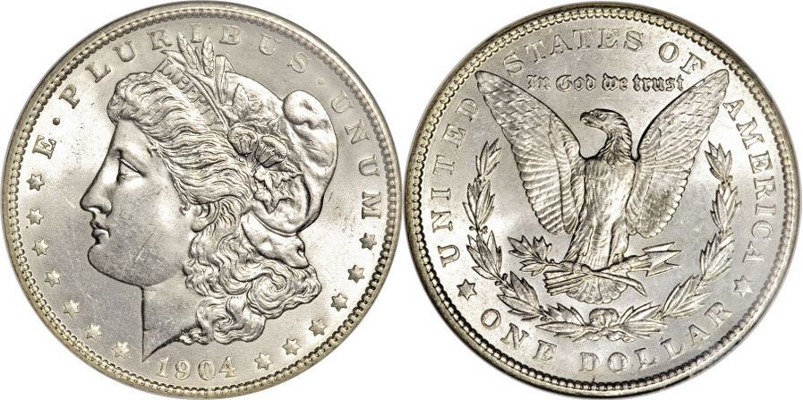 1904 Morgan Dollar Value