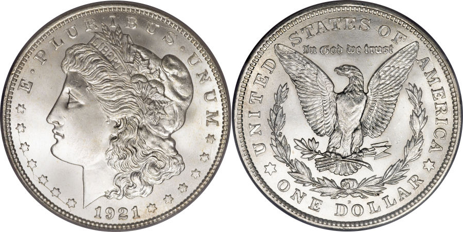 1921-D Morgan Dollar Value