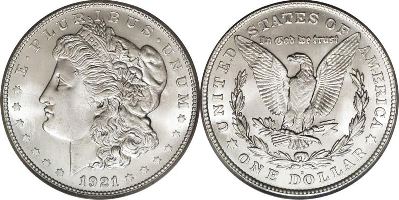1921-S Morgan Dollar Value